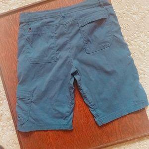 Prana Navy Blue Bermuda Board Shorts M